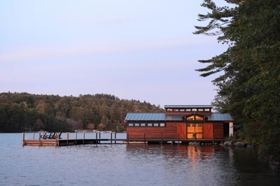 AIA-NH, Marcus Gleysteen Architects, NH, Boathouses